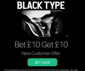 Blacktype Free Bet Offer