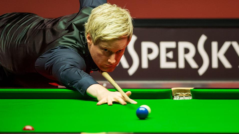 Neil Robertson at the Riga Masters