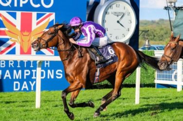 Magical wins Champions Day at Ascot