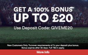 GiveMeBet Sign-up Offer Promotion